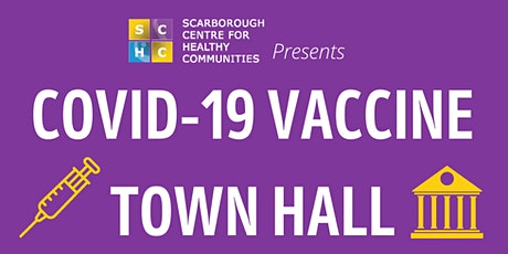 COVID-19 Vaccine Townhall tickets