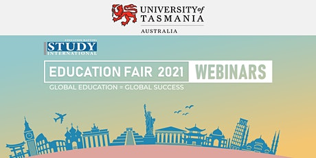Post-Fair FREE Webinar:  University of Tasmania, Australia tickets