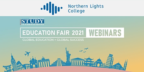 Post-Fair FREE Webinar:  Northern Lights College, Canada tickets