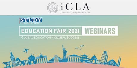 Post-Fair FREE Webinar:  International College of Liberal Arts, Japan tickets