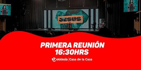 Primera Reunión  | Ekklesía Bolivia boletos
