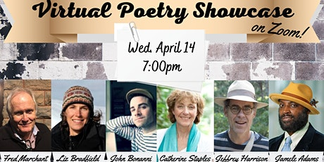 Virtual Poetry Showcase tickets