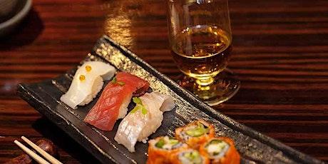 Japanese Whisky & Sushi tickets