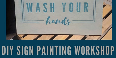 Sign Painting Virtual Workshop - New date! tickets