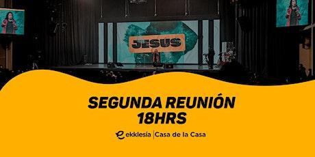 Segunda Reunión | Ekklesía Bolivia boletos