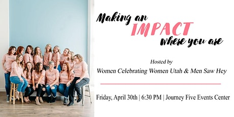 Making an Impact Where You Are- Women's Conference tickets