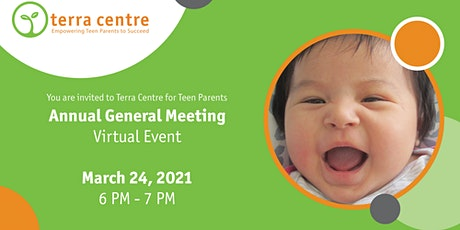 Terra Centre for Teen Parents Annual General Meeting tickets