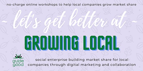 g2g Growing Local  - 5 ways to connect your local company to customers tickets