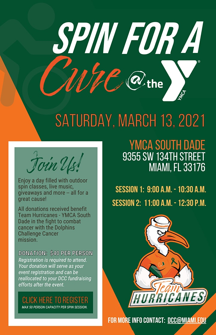 Spin for a Cure image