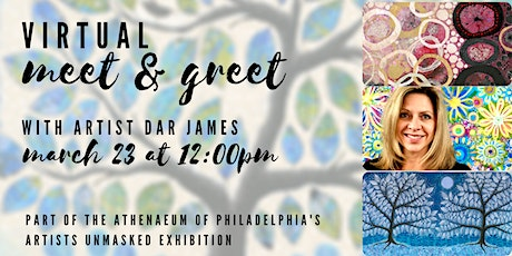 Virtual Artist Meet and Greet with Dar James tickets