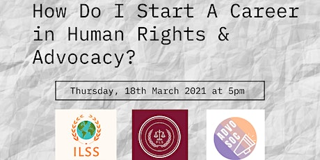 Careers in Human Rights & Advocacy tickets