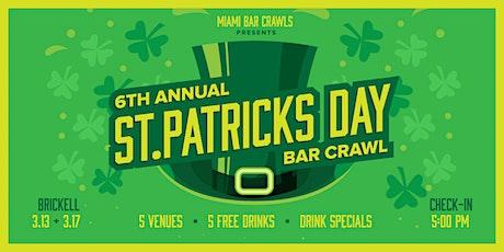 6th Annual St. Patrick's Day Bar Crawl in Brickell (Saturday, 3/13) tickets