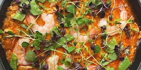 Weekly Feast - Saffron + Tomato Risotto w/Garlic Marinated Shrimp tickets