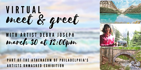 Virtual Artist Meet and Greet with Debra Joseph tickets