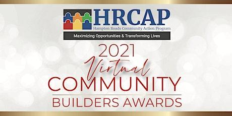 2021 Virtual Community Builders Awards tickets