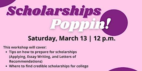 Scholarships Poppin tickets