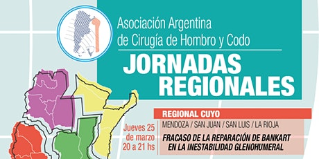 ASOCIACIÓN ARGENTINA DE HOMBRO Y CODO - Jornada Regional Cuyo boletos