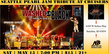 Washed in Black - Pearl Jam Tribute Celebrates 30 years of Pearl Jam tickets