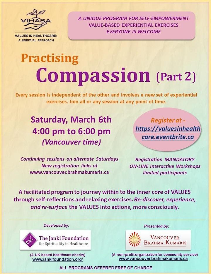 """Practising Compassion - Part 2"" image"