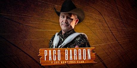 Paco Barron en Rio Bravo Arlington tickets