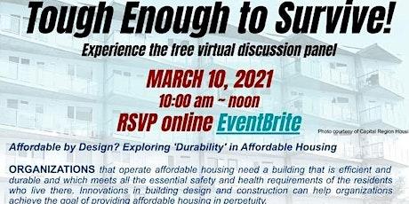 Tough Enough to Survive: A Virtual Discussion Panel tickets