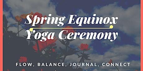 Spring Equinox Yoga Ceremony tickets