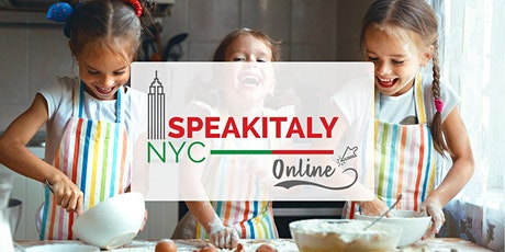 (SUMMER)Online & In-Person  Italian Children Cooking Class tickets