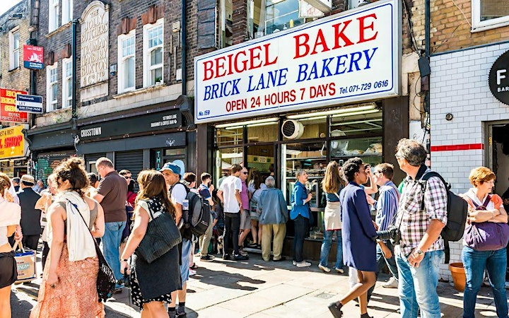 Brick Lane, London's most exciting street – the Zoom tour with Ed Glinert image