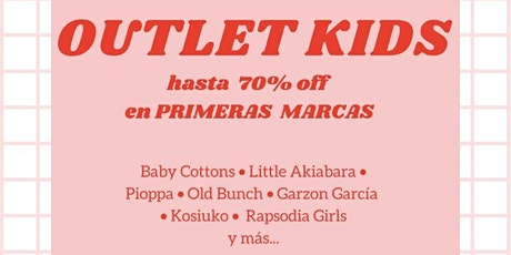 Outlet Kids Rosario Otoño Invierno entradas