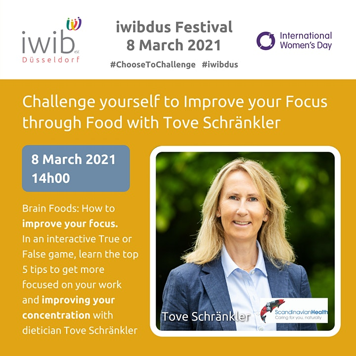 iwibdus Festival: Challenge Yourself to Improve your Focus through Food. image