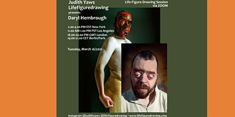LIFE figure drawing Session with Daryl Hembrough tickets