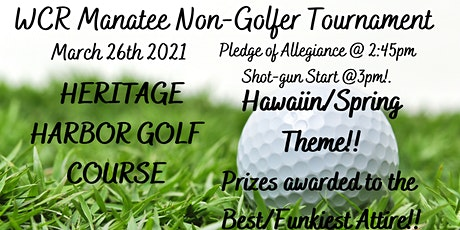 WCR Manatee Non-Golfers Tournament tickets