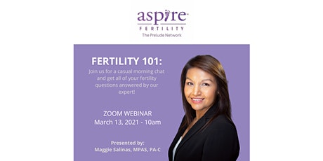 Fertility 101- A casual chat with Aspire McAllen tickets