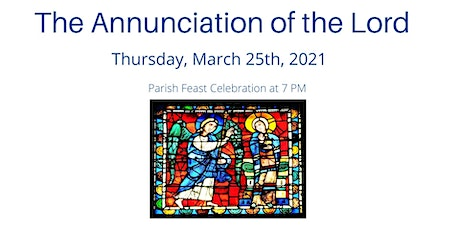 Feast of the Annunciation of the Lord tickets