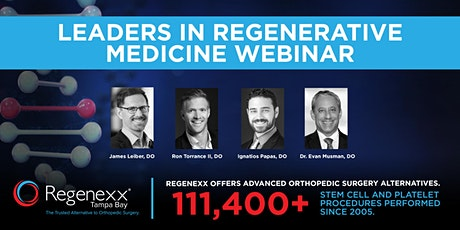 Leaders in Regenerative Medicine Webinar tickets