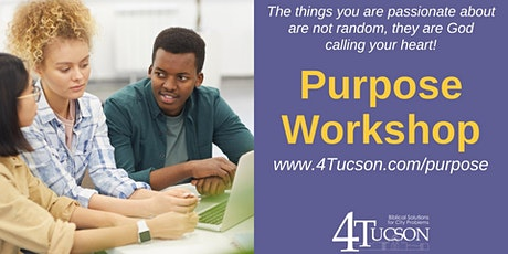 Discover Your Purpose Workshop-March 7th, 2021 tickets