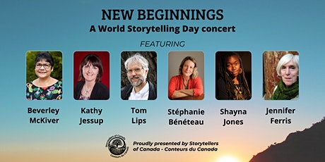 New Beginnings- a World Storytelling Day 2021 concert tickets