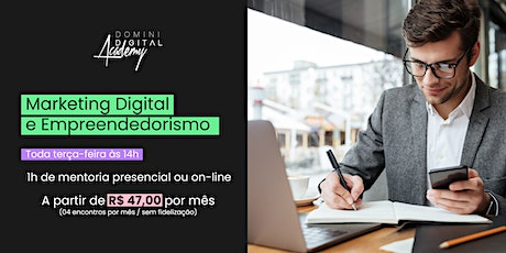 MENTORIA - Marketing Digital e Empreendedorismo ingressos