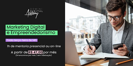MENTORIA - Marketing Digital e Empreendedorismo bilhetes