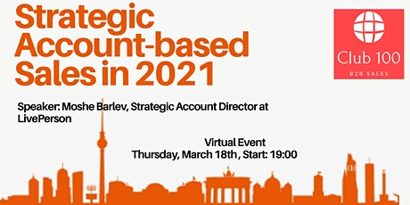 Networking event for B2B IT Sales professionals #3 (Virtual) tickets