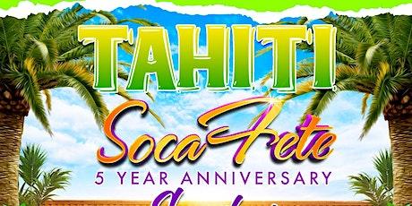 TAHITI SOCA FETE tickets
