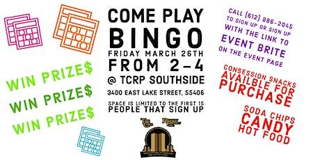 TCRP Bingo - March 26th Tickets