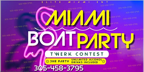 Miami Boat Miami - Unlimited drinks included tickets