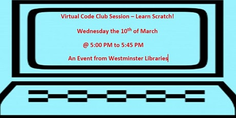 Virtual Code Club Taster Session tickets