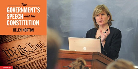"""Helen Norton -- """"The Government's Speech and the Constitution"""" tickets"""