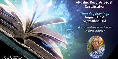 Akashic RecordReader Level I Certification (1 of 2) tickets