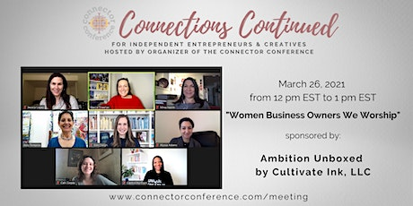 Women Business Owners We Worship (Networking & Roundtable) tickets