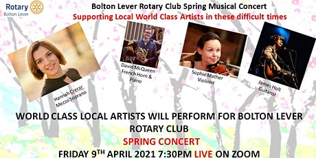Spring Concert, supporting artists during this Covid Pandemic tickets