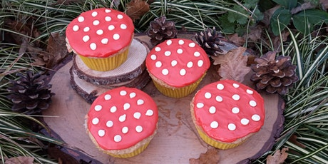 Woodland Toadstool Cupcakes - Live Baking with Anna Guerin tickets