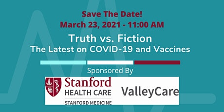 Truth vs. Fiction - The Latest on COVID-19 and Vaccines tickets